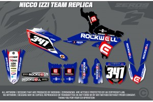 Yamaha Race Team Graphic Kit- Rockwell Nico Izzi