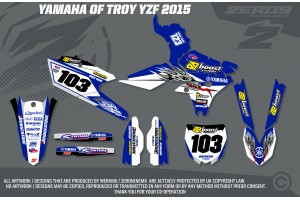 Yamaha Race Team Graphic Kit- Yamaha of Troy