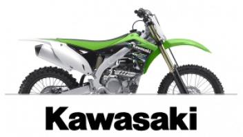 KAWASAKI LOWER FORK DECALS