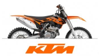 KTM FRONT FENDER DECALS