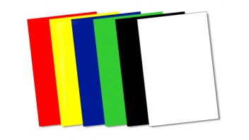 Coloured Decal Sheets