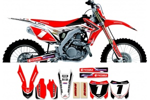Honda Race Team Graphic Kit - All Japan 13