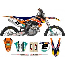 KTM Race Team Graphic Kit - 2014 Factory