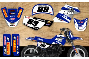 Yamaha PW50 Race Team Graphic Kit- GP Replica