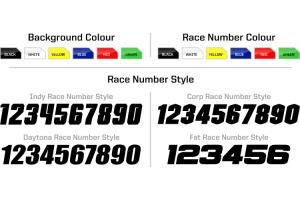 Honda Race Team Graphic Kit -Team Issue Red / Black