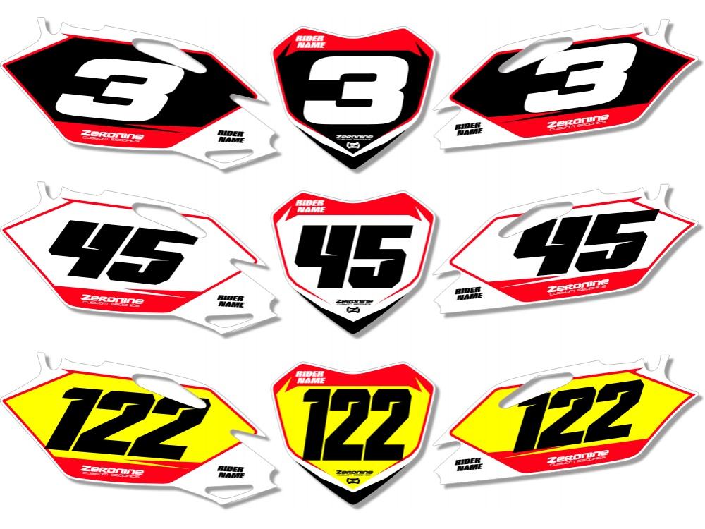 Husqvarna Custom Printed Motocross Backgrounds