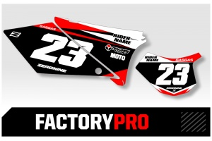GasGas Custom Printed Motocross Backgrounds - Factory Pro Series