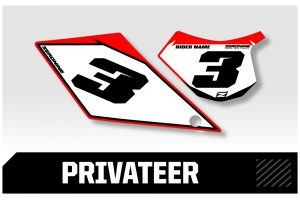 GasGas Custom Printed Motocross Backgrounds - Privateer  Series