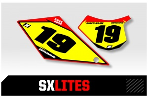 GasGas Custom Printed Motocross Backgrounds - SXlites  Series
