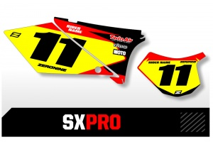 GasGas Custom Printed Motocross Backgrounds - SXPRO Series