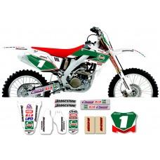 Honda Race Team Graphic Kit - Castrol Honda