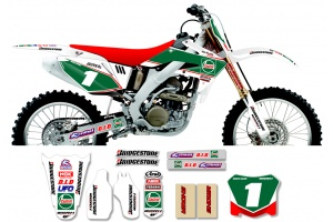 Honda Race Team Graphic Kit - Castrol Honda