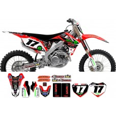 Honda Race Team Graphic Kit - MVRD 12
