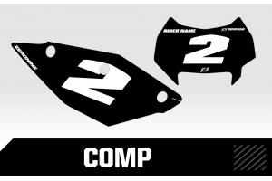 Husaberg Custom Printed Motocross Backgrounds - Comp Series