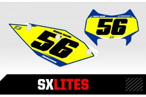 Husaberg Custom Printed Motocross Backgrounds - SXlites  Series