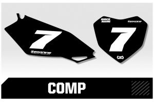 Husqvarna Custom Printed Motocross Backgrounds - Comp Series