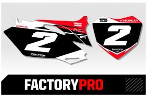 Husqvarna Custom Printed Motocross Backgrounds - Factory Pro Series