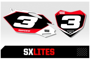 Husqvarna Custom Printed Motocross Backgrounds - SXlites  Series