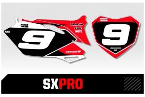 Husqvarna Custom Printed Motocross Backgrounds - SXPRO Series