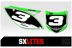 Kawasaki Custom Printed Motocross Backgrounds - SXlites  Series