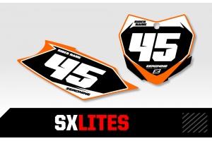 KTM Custom Printed Motocross Backgrounds - SXlites  Series