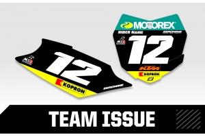 KTM Custom Printed Motocross Backgrounds - Team Issue Series