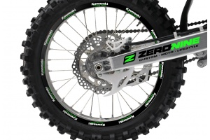 Rim Decal Set Kawasaki Black