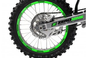 Rim Decal Set Kawasaki Green