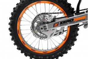 Rim Decal Set KTM Racing Orange