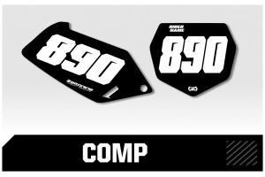 Suzuki Custom Printed Motocross Backgrounds - Comp Series