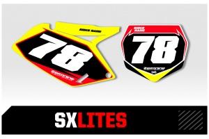Suzuki Custom Printed Motocross Backgrounds - SXlites  Series