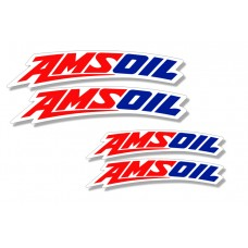 Universal Curved Fender Decal - Amsoil