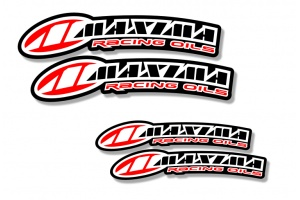 Universal Curved Fender Decal - Maxima