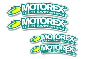 Universal Curved Fender Decal - Motorex