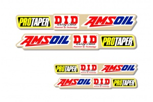 Universal Swing Arm Decal - Protaper / Amsoil