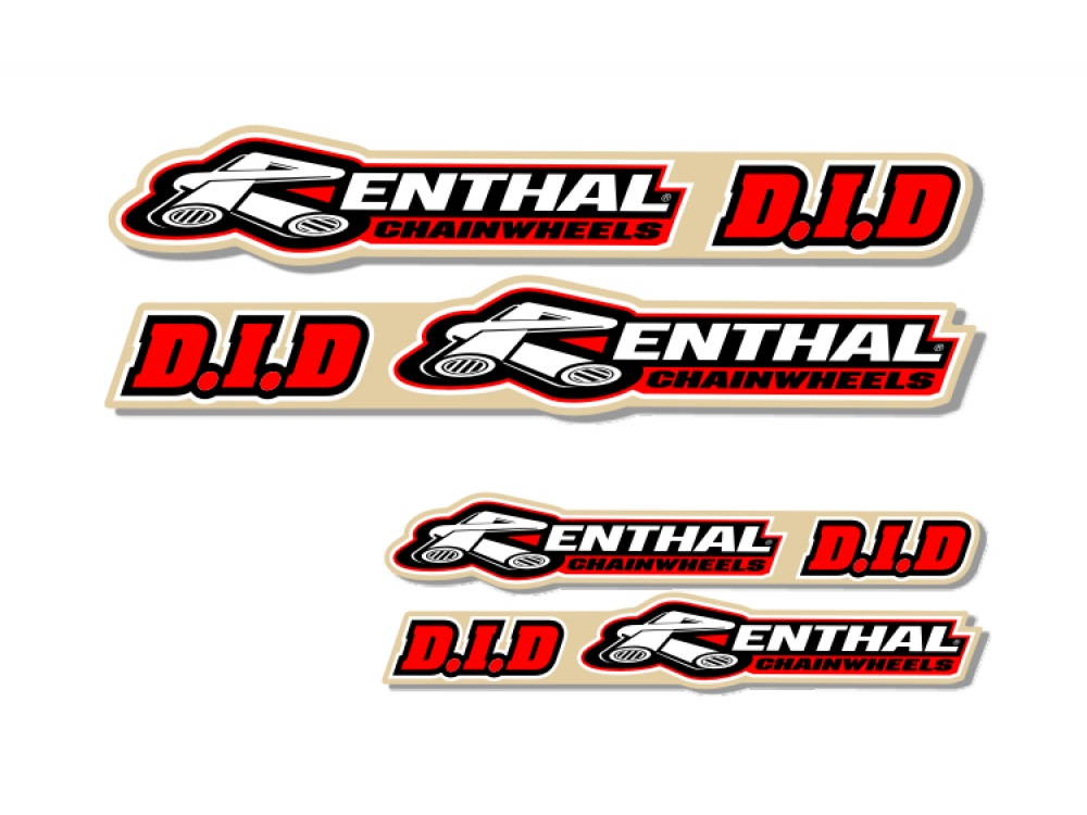 Universal Swing Arm Decal Renthal Did