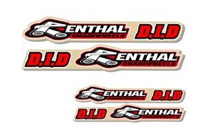 Universal Swing Arm Decal - Renthal/DID
