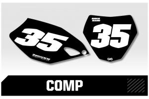 Yamaha Custom Printed Motocross Backgrounds - Comp Series