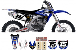 Yamaha Race Team Graphic Kit- Team Issue Blue